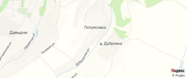 Территория Урочище Черный Ручей ИС на карте поселка Дубровки с номерами домов