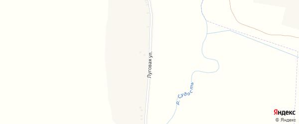 Луговая улица на карте села Сетолово с номерами домов