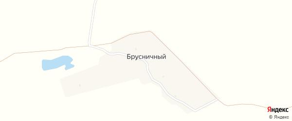 Брусничная улица на карте Брусничного поселка с номерами домов