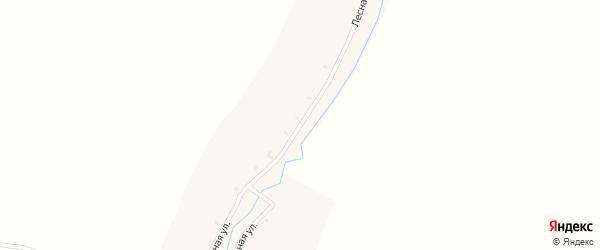 Лесная улица на карте деревни Могоря с номерами домов