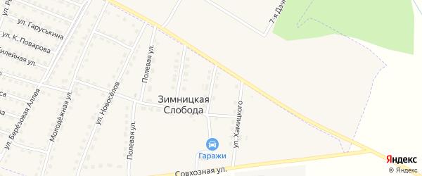 Улица Дружбы на карте поселка Дубровки с номерами домов