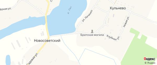 Территория Паи Кульнево на карте территории Воробейнского сельского поселения с номерами домов