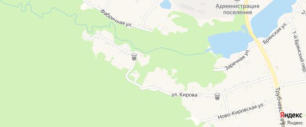 Заречная улица на карте поселка Рамасуха с номерами домов
