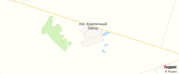 Карта поселка Кирпичного Завода в Брянской области с улицами и номерами домов