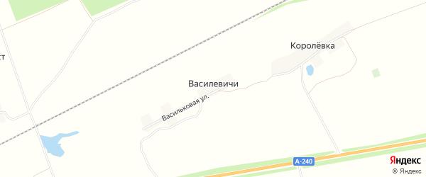 Карта поселка Василевичей в Брянской области с улицами и номерами домов