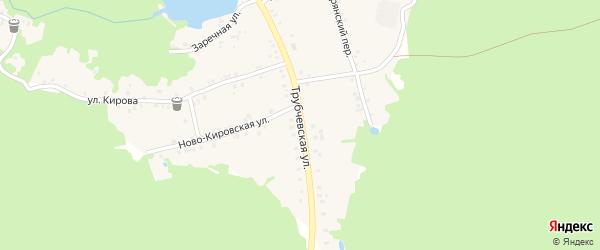 Трубчевская улица на карте поселка Рамасуха с номерами домов