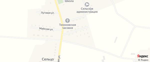 Улица Медведева на карте поселка Гобики с номерами домов