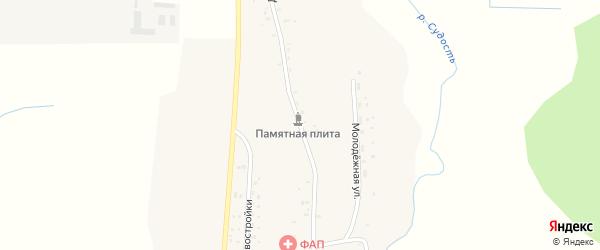Дмитровская улица на карте села Дмитрово с номерами домов