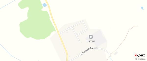 Молодежная улица на карте деревни Старокрасной Слободы с номерами домов