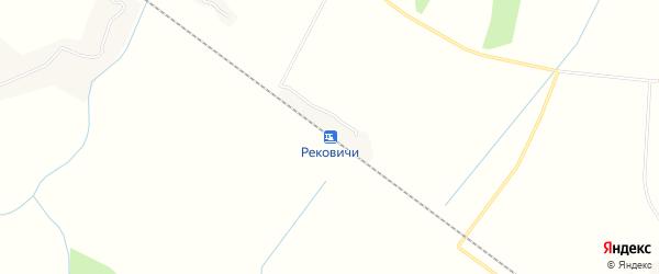 Карта железнодорожной станции Рековичей в Брянской области с улицами и номерами домов