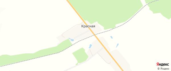 Карта поселка Красной в Брянской области с улицами и номерами домов