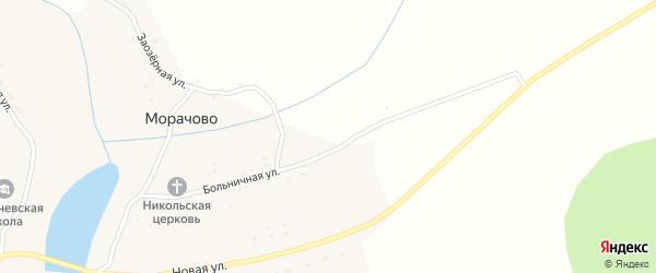 Больничная улица на карте села Морачово с номерами домов