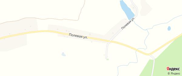 Полевая улица на карте поселка Поповки с номерами домов