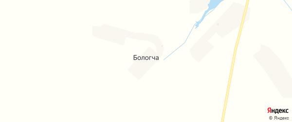 Озерная улица на карте деревни Бологча с номерами домов