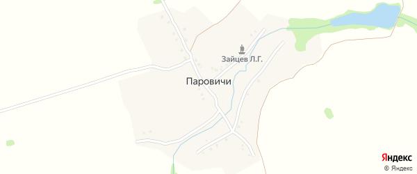 Заводская улица на карте деревни Паровичи с номерами домов