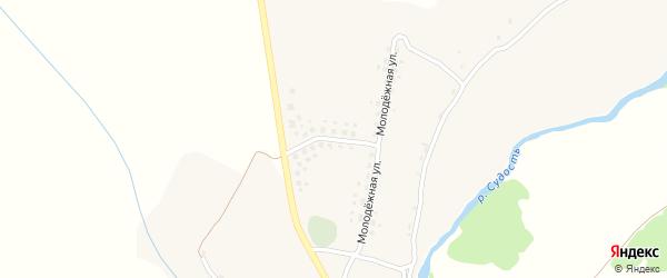 Молодежная улица на карте села Савлуково с номерами домов