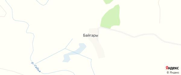 Карта деревни Байгары в Брянской области с улицами и номерами домов