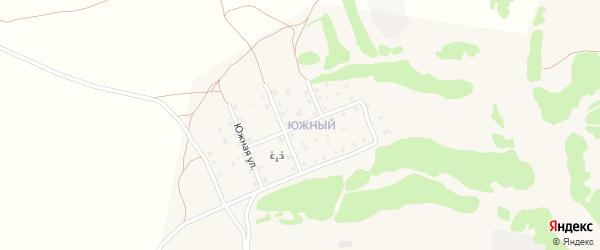 Южная улица на карте села Жирятино с номерами домов