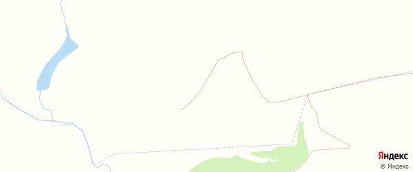Дачная улица на карте деревни Чмыхово с номерами домов