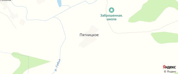 Карта Пятницкого села в Брянской области с улицами и номерами домов