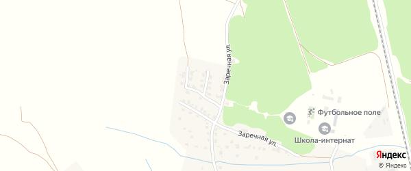 Улица 1-й тупик Заречный на карте Жуковки с номерами домов