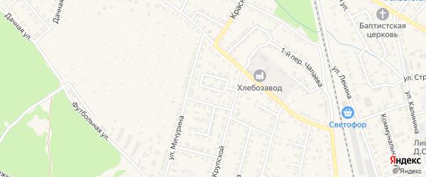 Улица 17 Сентября на карте Жуковки с номерами домов