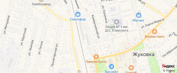 Улица Ленина на карте Жуковки с номерами домов