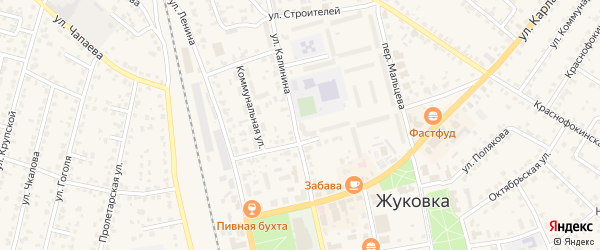 Территория Студенческий лагерь Сосновка на карте Жуковки с номерами домов