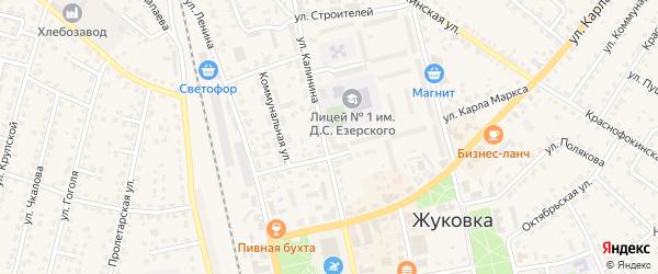 Территория СТ Аромат садов на карте Жуковки с номерами домов