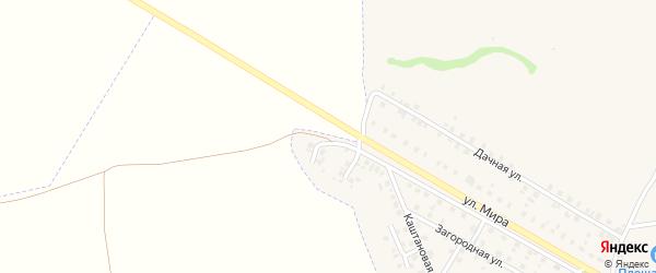 Переулок Мира на карте Трубчевска с номерами домов