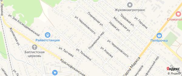 Улица Кирова на карте Жуковки с номерами домов