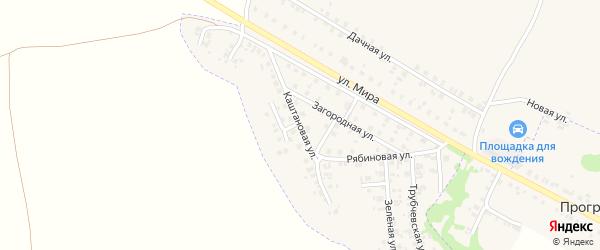Каштановая улица на карте Трубчевска с номерами домов