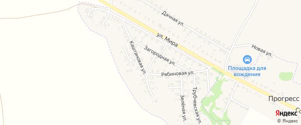 Юбилейная улица на карте Трубчевска с номерами домов