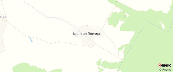 Карта поселка Красной Звезды в Брянской области с улицами и номерами домов
