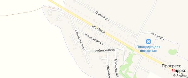 Загородная улица на карте Трубчевска с номерами домов