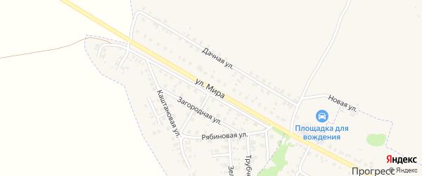 Улица Мира на карте Трубчевска с номерами домов