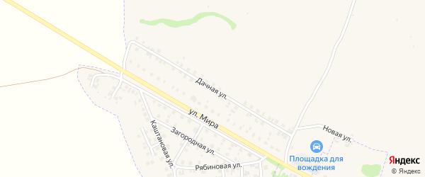 Дачная улица на карте Трубчевска с номерами домов