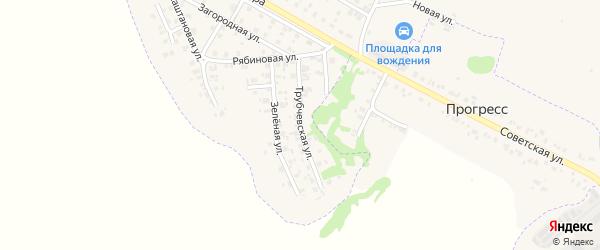 Трубчевская улица на карте Трубчевска с номерами домов