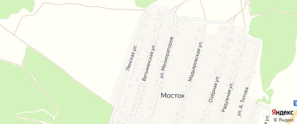 Ветьмянская улица на карте Жуковки с номерами домов
