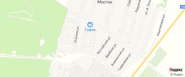 Калужская улица на карте Жуковки с номерами домов