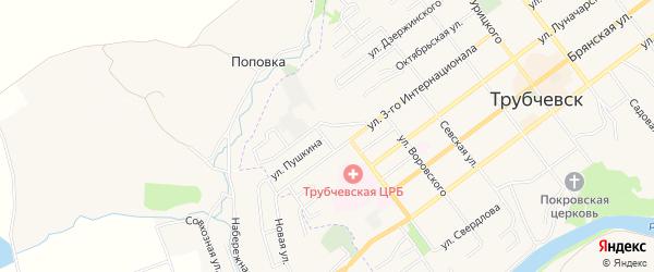 ГСК Гаражный массив N7 на карте переулка 3 Интернационалы с номерами домов