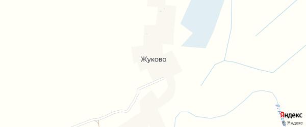 Деснянская улица на карте деревни Жуково с номерами домов