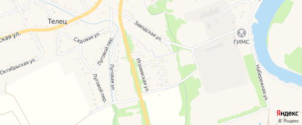 Придеснянская улица на карте Трубчевска с номерами домов