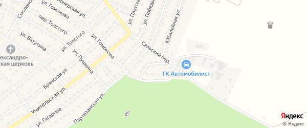 Улица Ани Морозовой на карте Жуковки с номерами домов