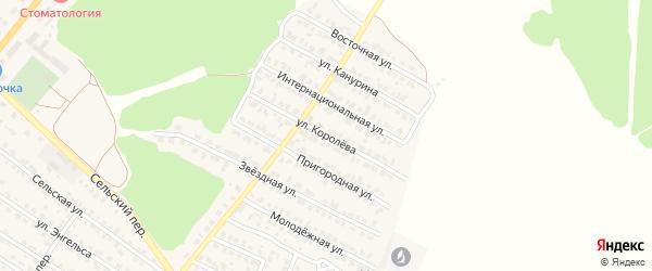 Улица Королева на карте Жуковки с номерами домов