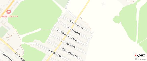Улица Канурина на карте Жуковки с номерами домов