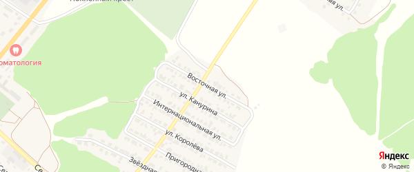 Восточная улица на карте Жуковки с номерами домов