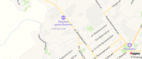 ГСК Гаражный массив N5 на карте улицы Володарского с номерами домов