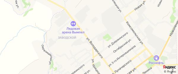 ГСК Гаражный массив N4 на карте улицы Володарского с номерами домов