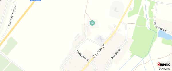 Молодежная улица на карте поселка Латыши с номерами домов